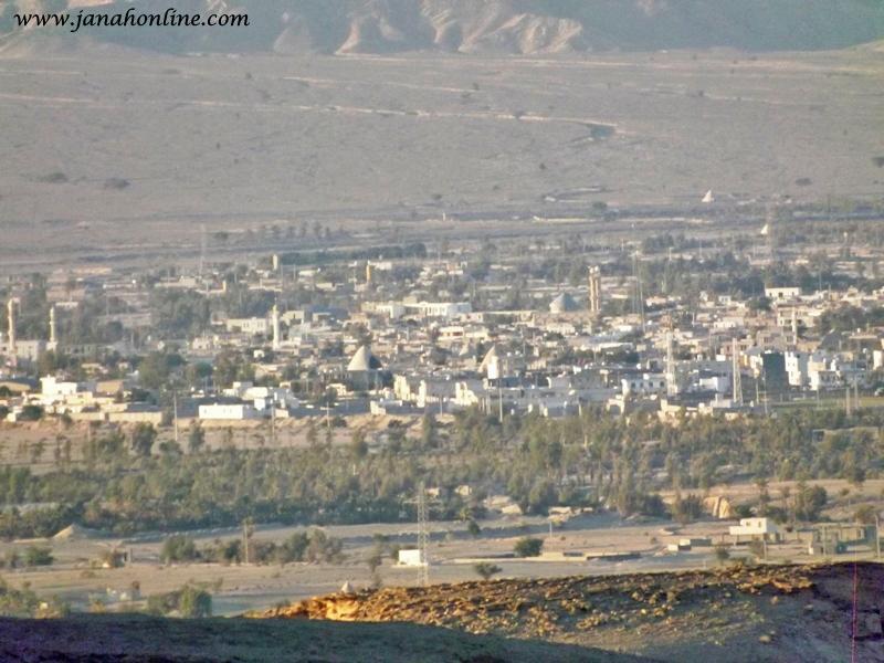 تصاویر شهر جناح از نمای دور